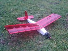 Dipstick fun stick radio control small model aeroplane balsa kit 2 or 3 channel laser cut by fmk